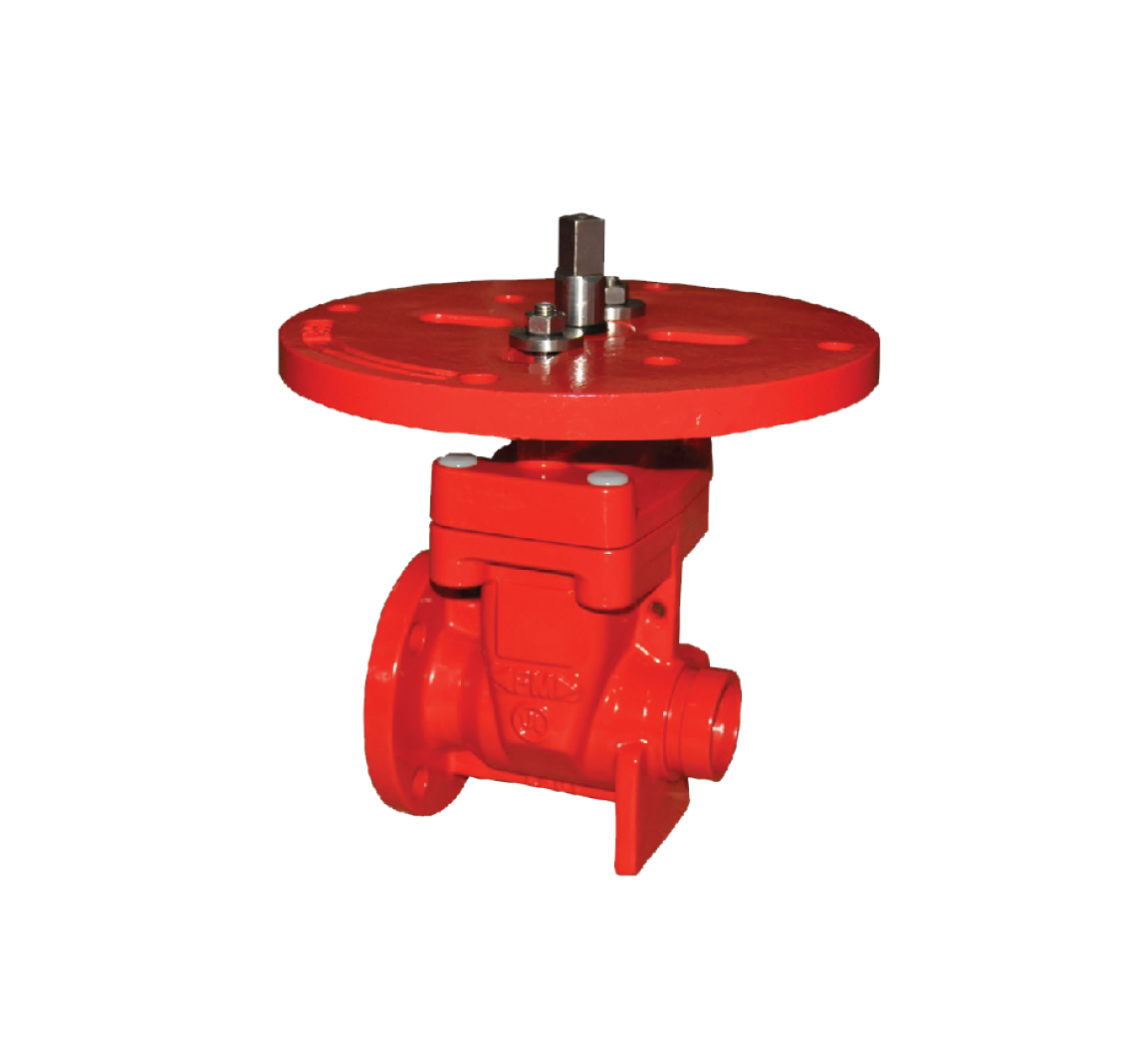 3288 Non-Rising Stem Flanged x Grooved